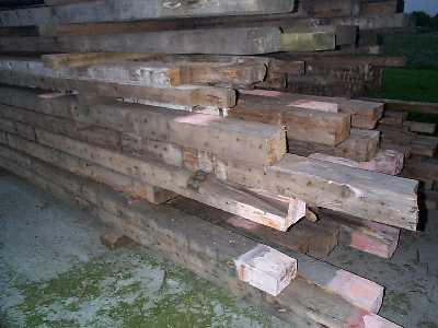 Oude houten balken kopen