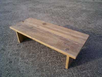 Wat maken we van oud hout - Wat op een salontafel ...